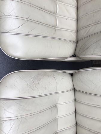 Pearl beige seats