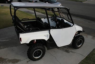 2007 4 seat Yamaha Rhino