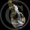 Cascade Falls – framed