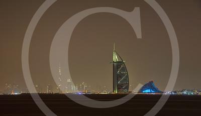 Iconic Skyline of Dubai