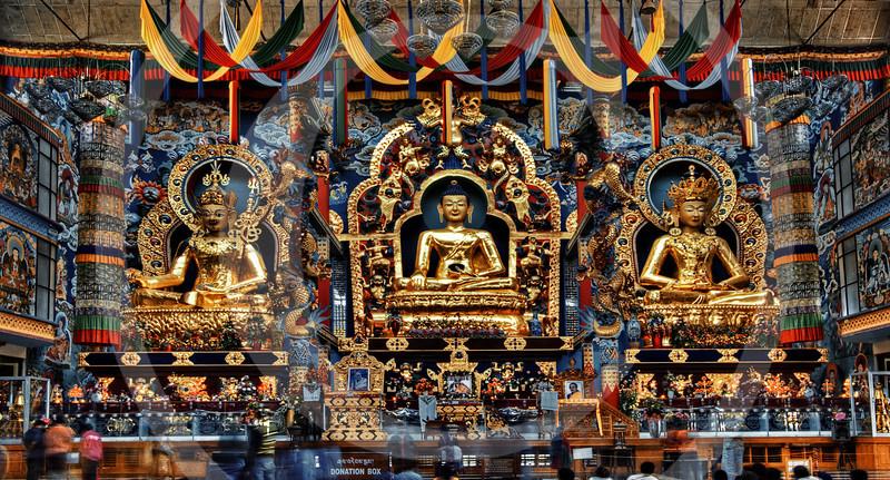 Tibetan Golden Temple @ Coorg