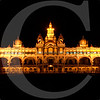 Mysore Palace guarded by the Big Cats