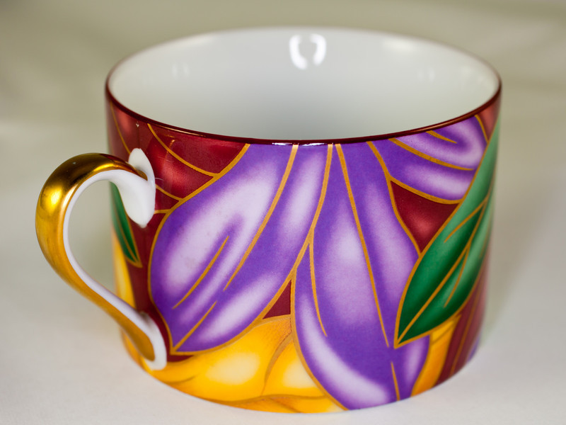 Cup, showing inside, other view