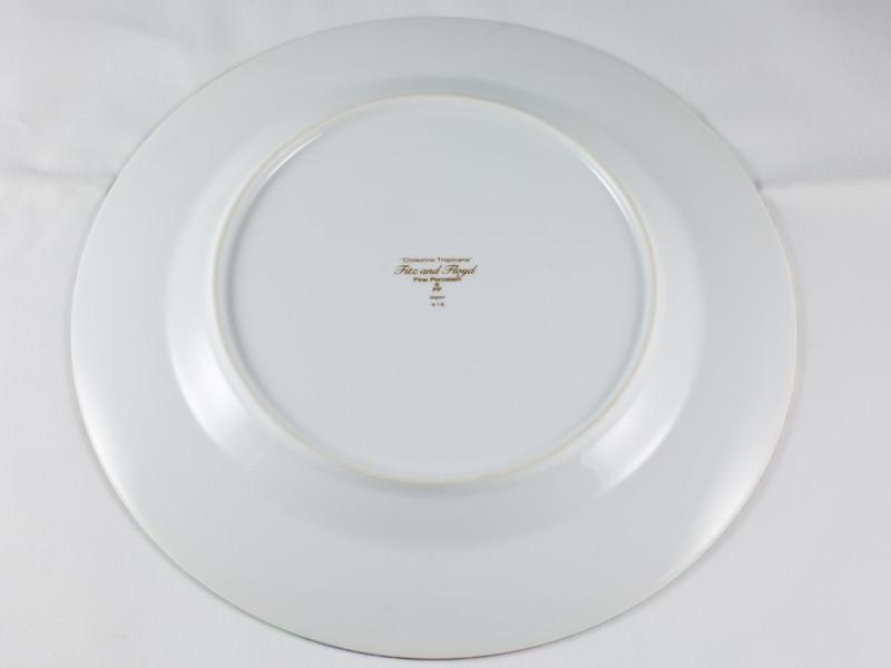 Dinner Plate, back