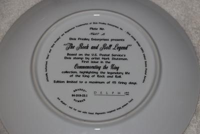 Collector Plates - Elvis Presley