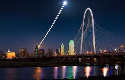 Dallas Moonrise