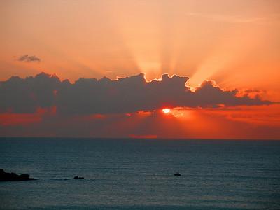 Sunset on Antigua