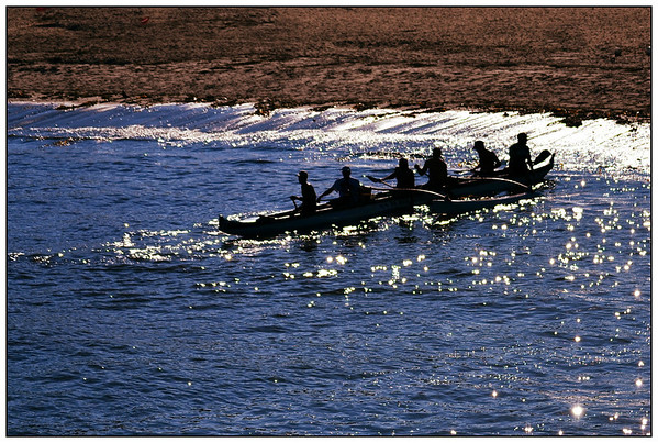 """Entered Jan 2013; no prize """"Outrigger Silhouette"""" - California July"""