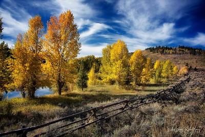 Autumn in Jackson Hole