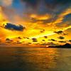 Sunset over St. Simon Island