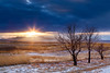 """""""Montana Winter Sunset"""" <br><br> Plano, TX<br><br> Technical Details: Shot with Canon 6D and Canon 24-105L lens at F16 and 1 second. <br><br><br><center><a><img src=""""/photos/604338366_ecXJp-M.gif""""></a></center>"""