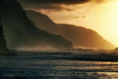 North Beach, Kauai, USA