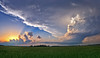 """Beautiful backlit LP Supercell at sunset.  I captured this image while on a storm chase in central Oklahoma. <BR><BR><br><center><a href=""""javascript:addCartSingle(ImageID, ImageKey)""""><img src=""""/photos/604338366_ecXJp-M.gif"""" border=""""0""""></a></center>"""