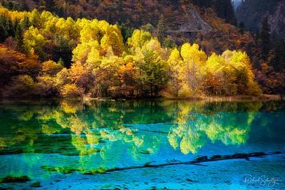 Jiuzhaigou Park, China