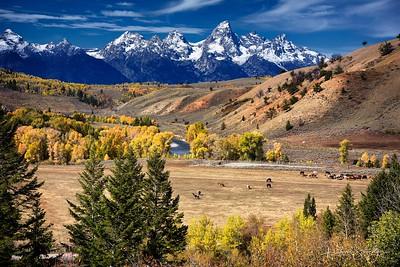 Teton Mountains, USA