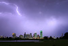 Lightning Storm over Dallas, Texas Skyline (2004) - This was shot from Crowe Park, just outside Dallas.  An intense storm had swept down from Oklahoma and passed through Dallas, leaving this incredible lightning display in it's wake.