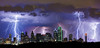 """Electric Sky"" <br><br> Dallas, TX<br><br> In 2011 in Dallas we had over 70 days where the temperature was 100 or more.  In 2012 we had a welcome break in June and August with a lot of rain and storms.  I shot this image in mid August 2012 and the lightning was incrdible!<br><br> Technical Details: Shot with Canon 5d MK2 and Canon 70-200Llens."