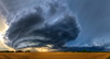 """The Beast"" <br><br> Piedmont, Oklahoma<br><br> Technical Details: Shot with Canon 5d mk2 and Canon 24-70mm lens at F10 and 1/8.    Panorama created from 10  vertical shots."