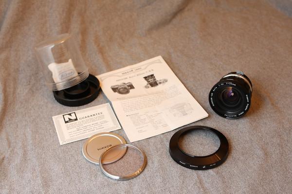Nikkor-UD 20mm f3.5