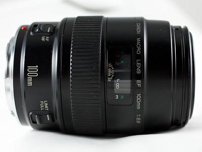 Canon 100mm f/2.8 non-USM Macro Lens