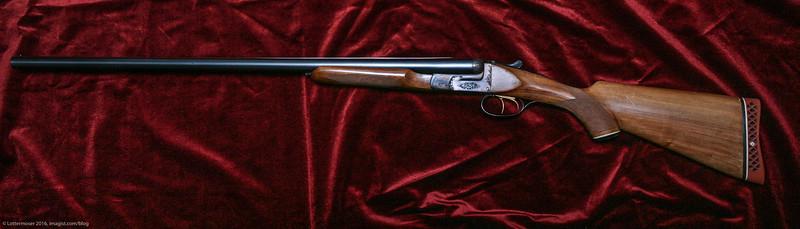 12 Gauge Spanish Side by Side Shotgun