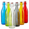 16 Bormioli Rocco Giara 1L swing-top bottles - $8