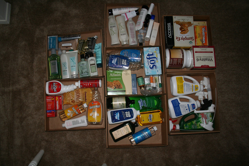 "I ordered the Melaleuca career pack and picked it up from my mailbox place last night.  When I unpacked it this morning, there were seven ""trays"" inside the box.  This is what they looked like."