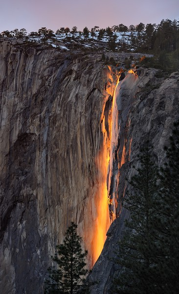 Horsetail Falls, Yosemite National Park, CA