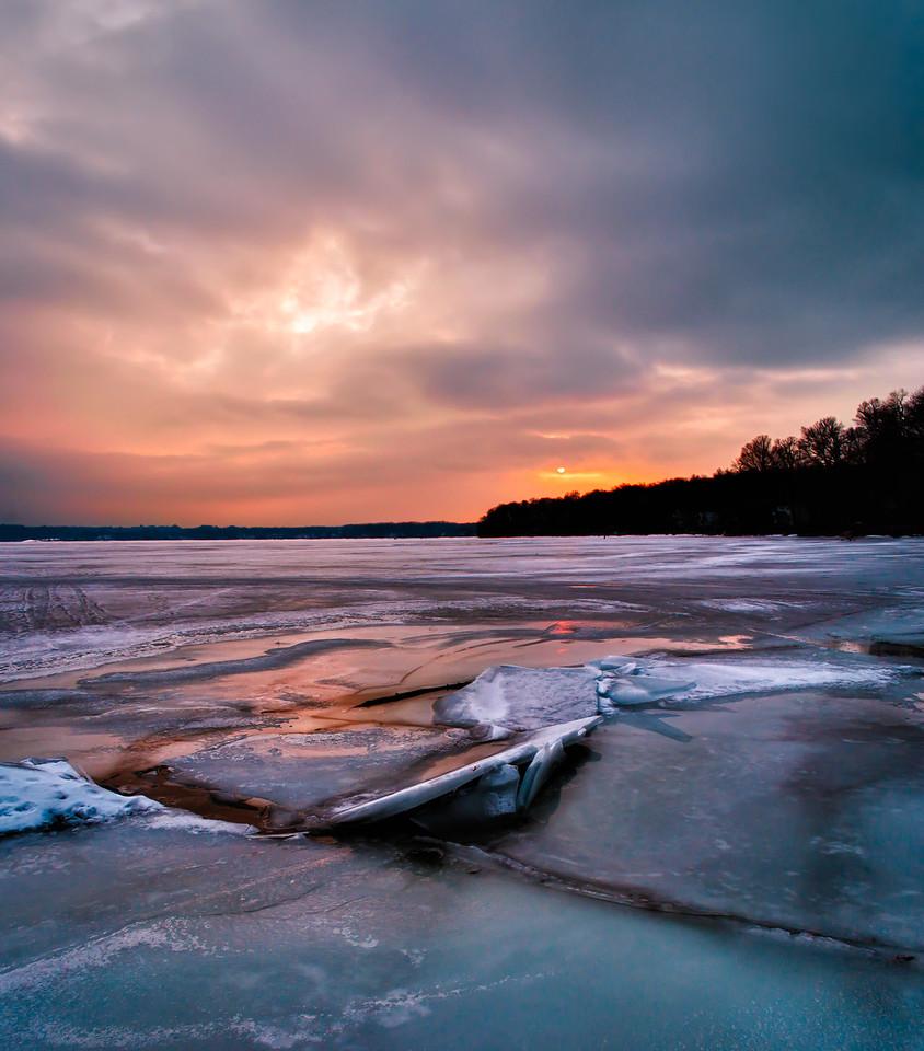 Icey Sunset