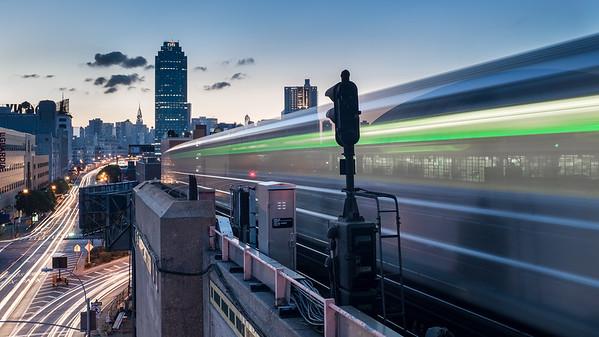 7 Train, Queens, New York