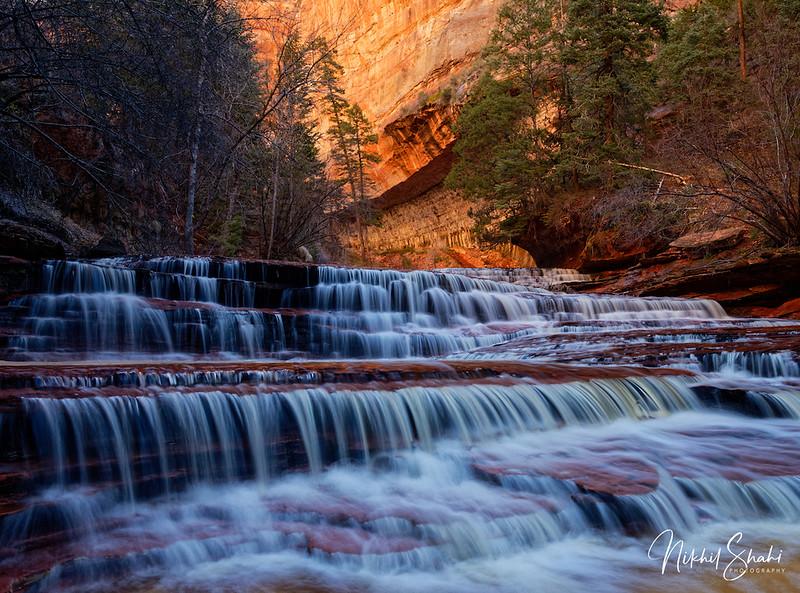 Archangel Falls, Left Fork of North Creek, Zion National Park, Utah