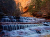 Archangel Falls, Left Fork of North Creek, Zion National Park, Utah