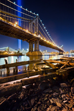 Manhattan Bridge & Tribute