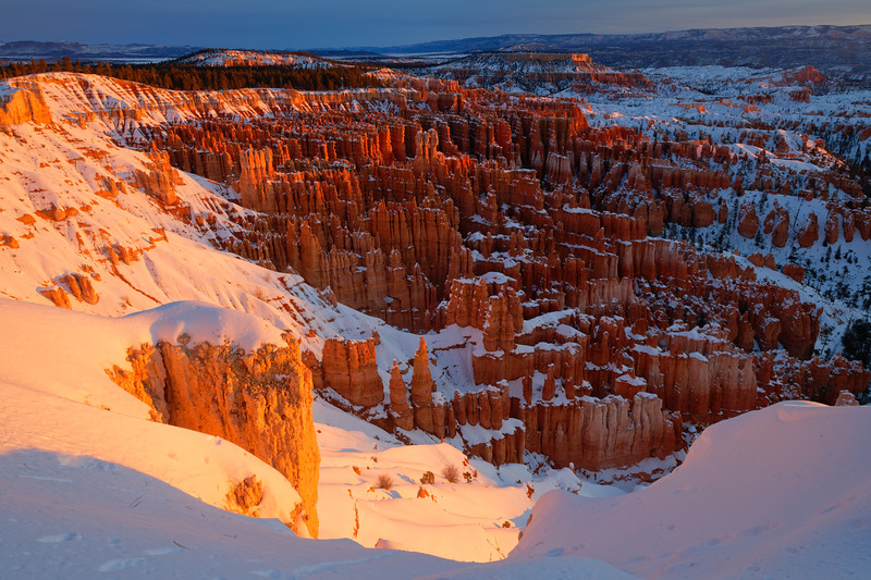 Winter Sunrise, Bryce Canyon, Utah