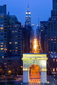 Washington Square Arch & Fifth Avenue