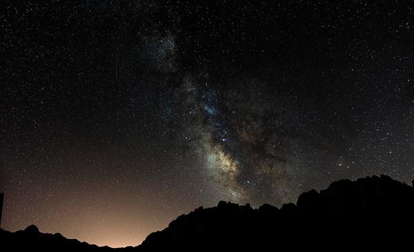 Aguirre Springs Night Sky