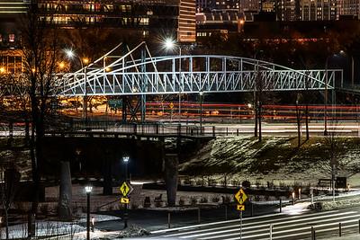Pedestrian bridge Walker Art Center====Loring Park