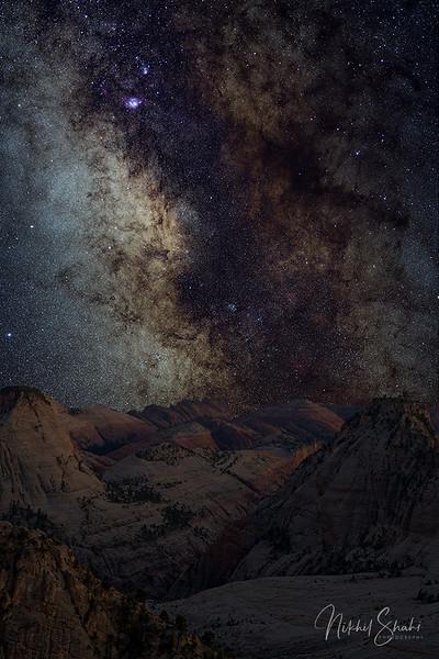 Milky Way at West Rim