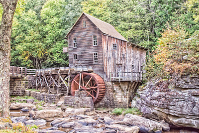 Glade Creek Mill 9174a