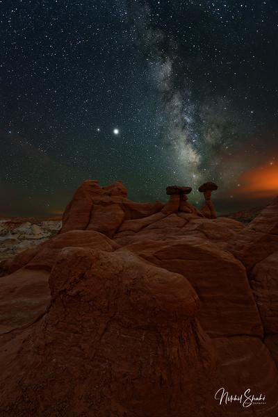 Milky Way & Hoodoos #3