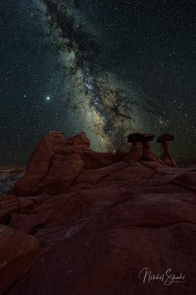 Milky Way & Hoodoos #1