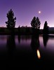 Dusk at Tuolumne Meadows, Yosemite National Park, CA