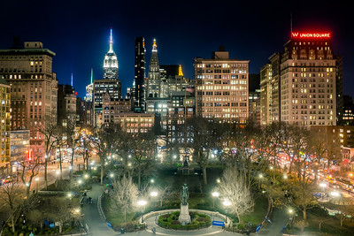Union Square at Night