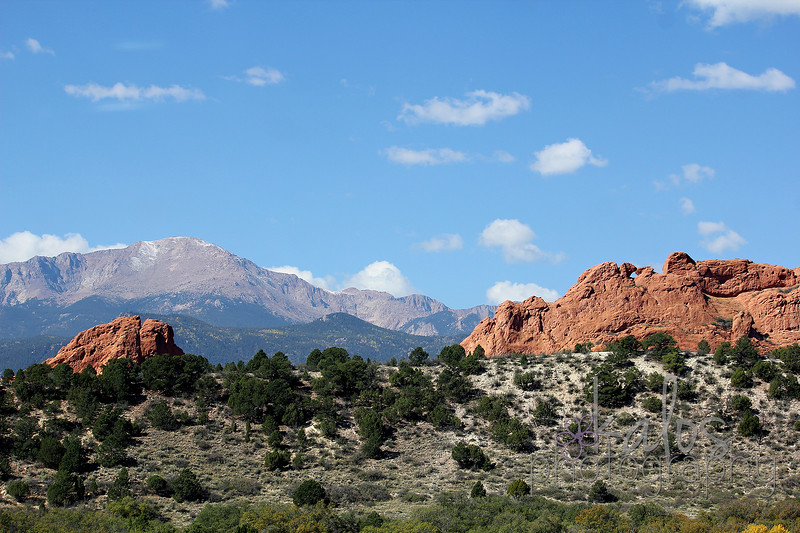 pikes peak & the kissing camels