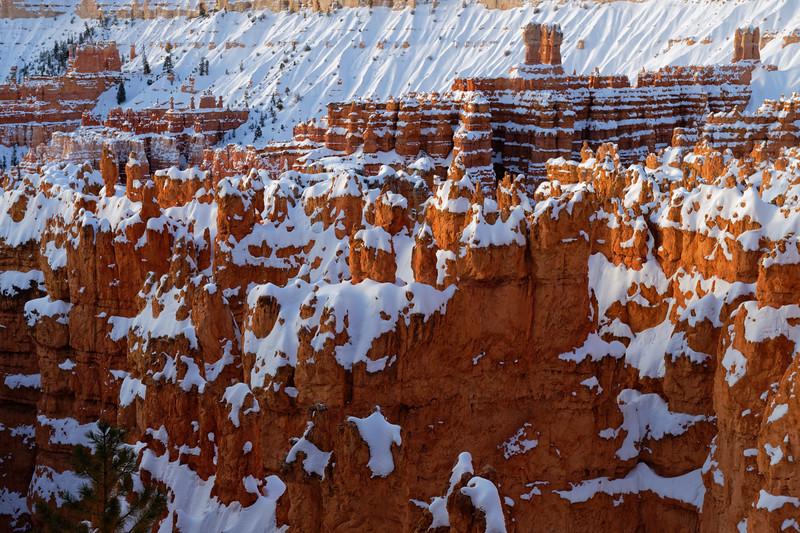 Winter in Bryce Canyon, Utah