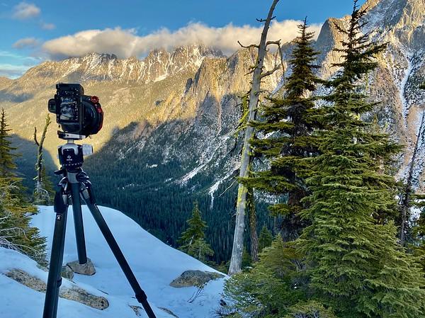 Winter In the North Cascades, Washington USA