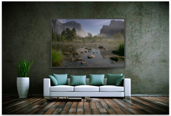 Gates of the valley, Yosemite.  Available in the Yosemite gallery. CLICK TO SEE