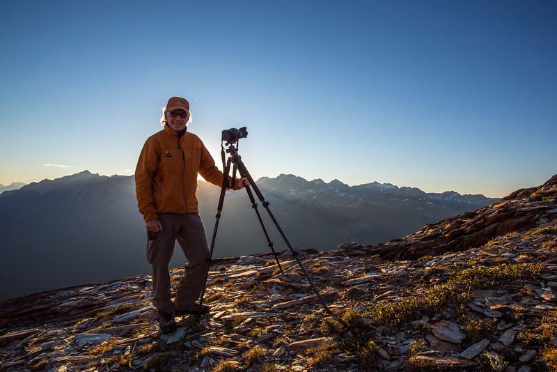 Landscape photography workshop, Bugaboos, BC, Canada