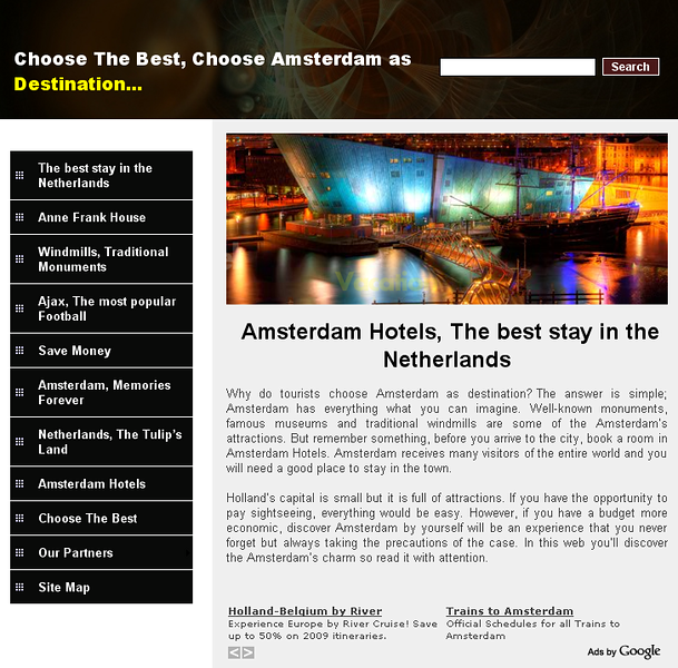 "<a href=""http://www.hotels.nl/amsterdam/nhdoelen/"">NH Doelen Amsterdam</a> - Hotels.nl is dedicated to providing the best prices and the easiest and most accurate online bookings for hotels in Amsterdam and Holland."