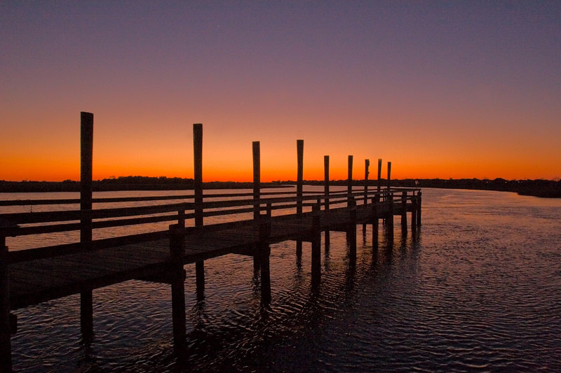 Fishing Dock<br /> in the lingering light